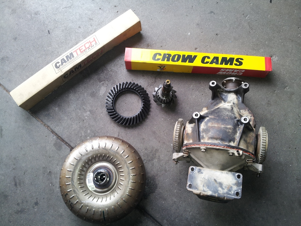 Cam Diff Gears HiStall Converters